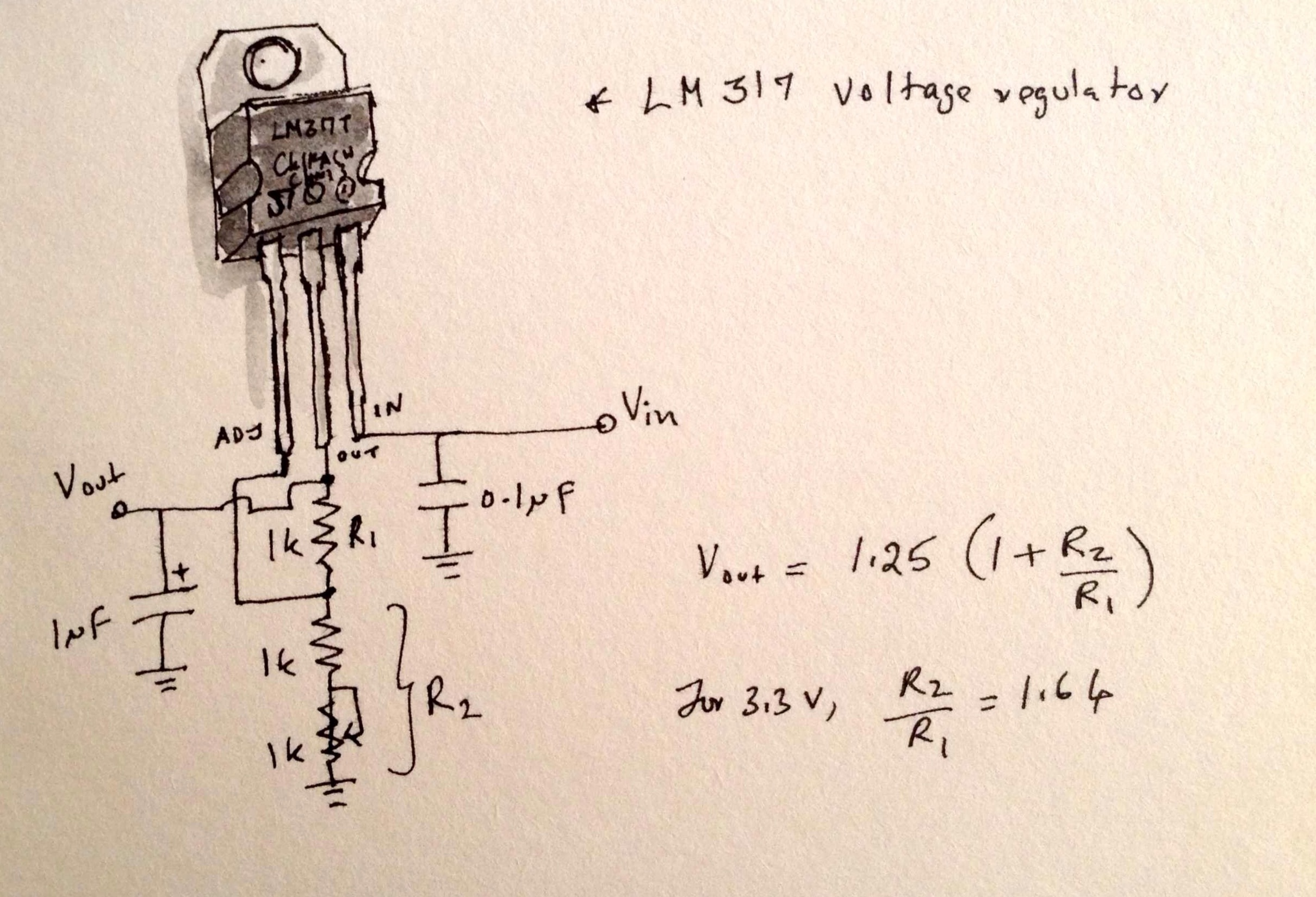 Electronic Voltage Regulator Circuit Diagram Electrical Wiring Adjustable Ac Schematic