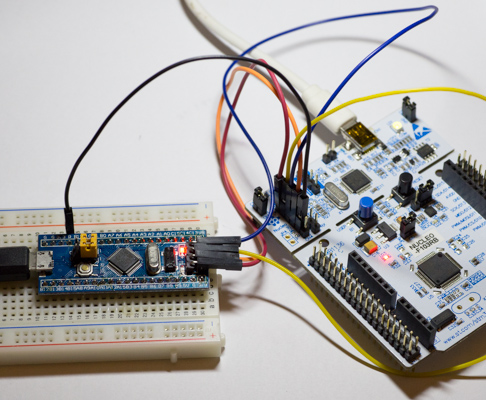 Stm32 blue pill arm development board first look: from arduino to.